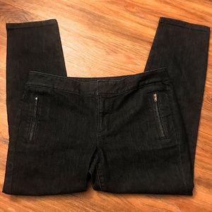 Loft Modern Crop Trouser Jeans Pants ~ A411